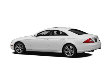 Surround 3/4 Rear - Drivers Side  2010 Mercedes-Benz CLS550