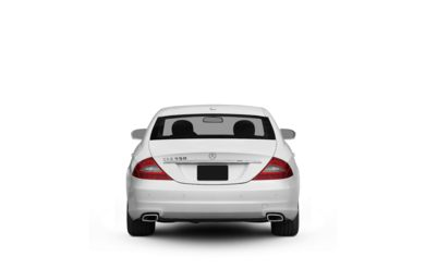 Surround Rear Profile 2010 Mercedes-Benz CLS550