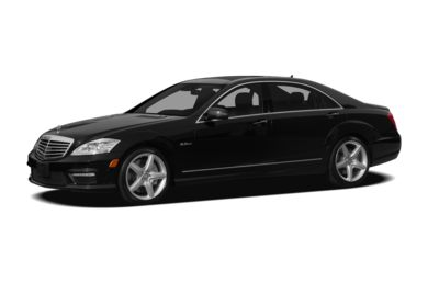3/4 Front Glamour 2010 Mercedes-Benz S63 AMG