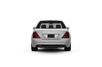 Surround Rear Profile 2010 Mercedes-Benz S400 Hybrid