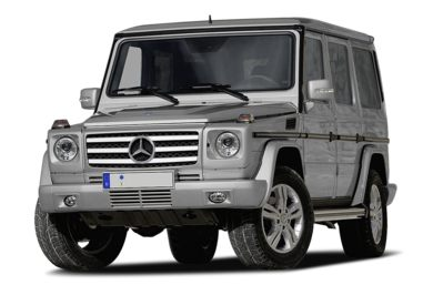 3/4 Front Glamour 2010 Mercedes-Benz G55 AMG