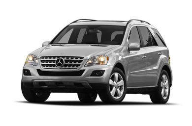 3/4 Front Glamour 2010 Mercedes-Benz ML350