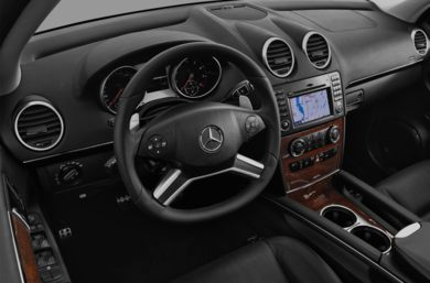 Interior Profile  2010 Mercedes-Benz ML63 AMG