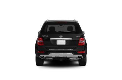 Surround Rear Profile 2010 Mercedes-Benz ML550
