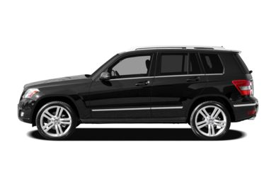 90 Degree Profile 2010 Mercedes-Benz GLK350