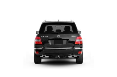 Surround Rear Profile 2010 Mercedes-Benz GLK350