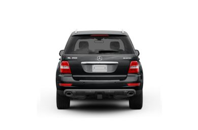Surround Rear Profile 2010 Mercedes-Benz ML350 BlueTEC