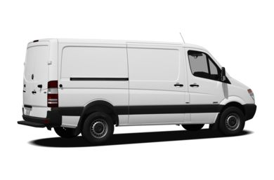 3/4 Rear Glamour  2010 Mercedes-Benz Sprinter