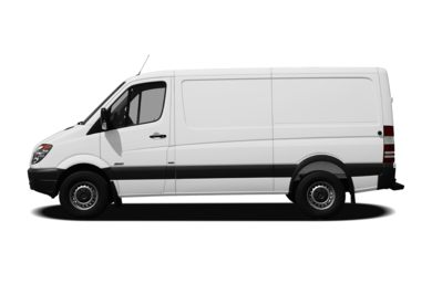 90 Degree Profile 2010 Mercedes-Benz Sprinter Van
