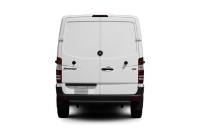 Rear Profile  2010 Mercedes-Benz Sprinter Van