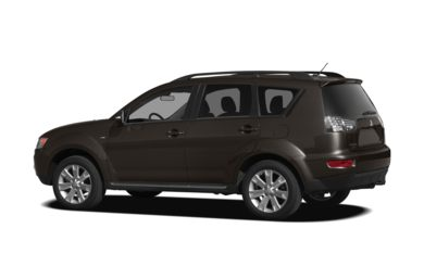 Surround 3/4 Rear - Drivers Side  2010 Mitsubishi Outlander