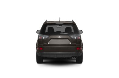 Surround Rear Profile 2010 Mitsubishi Outlander