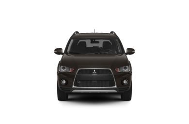 Surround Front Profile  2010 Mitsubishi Outlander