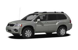 3/4 Front Glamour 2010 Mitsubishi Endeavor