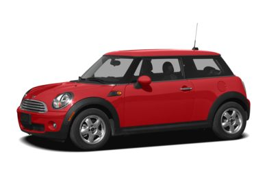 3/4 Front Glamour 2010 MINI Hardtop