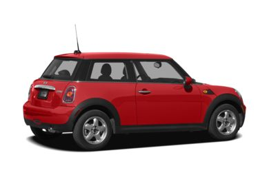 3/4 Rear Glamour  2010 MINI Hardtop