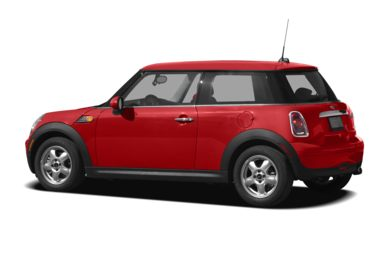 Surround 3/4 Rear - Drivers Side  2010 MINI Hardtop