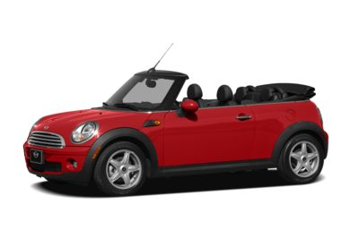 3/4 Front Glamour 2010 MINI Convertible