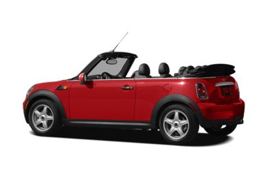 Surround 3/4 Rear - Drivers Side  2010 MINI Convertible