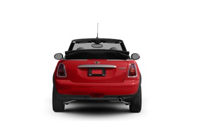 Surround Rear Profile 2010 MINI Convertible