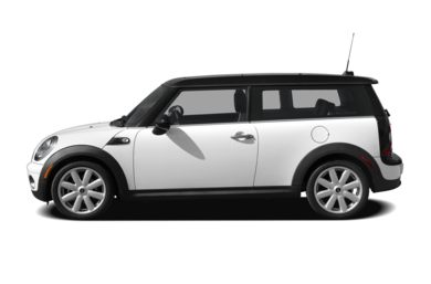 90 Degree Profile 2010 MINI Clubman