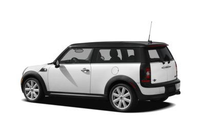Surround 3/4 Rear - Drivers Side  2010 MINI Clubman