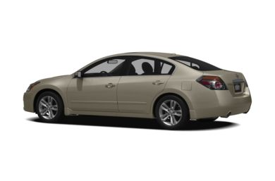 Surround 3/4 Rear - Drivers Side  2010 Nissan Altima