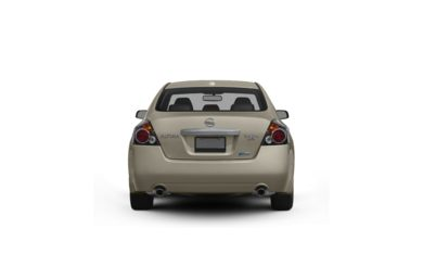 Surround Rear Profile 2010 Nissan Altima