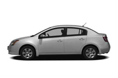 90 Degree Profile 2010 Nissan Sentra