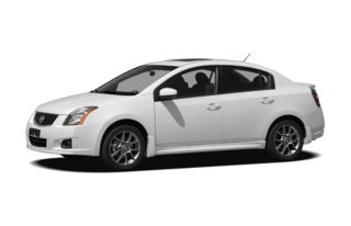 3/4 Front Glamour 2010 Nissan Sentra