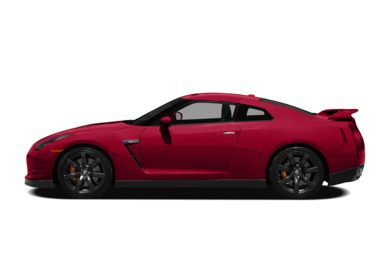 90 Degree Profile 2010 Nissan GT-R