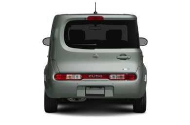 Rear Profile  2010 Nissan Cube