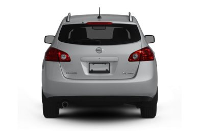 Rear Profile  2010 Nissan Rogue