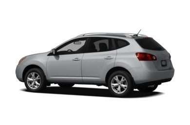 Surround 3/4 Rear - Drivers Side  2010 Nissan Rogue