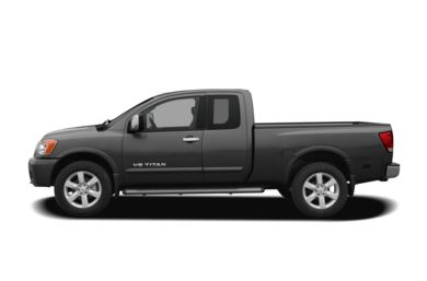 90 Degree Profile 2010 Nissan Titan
