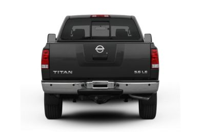 Rear Profile  2010 Nissan Titan