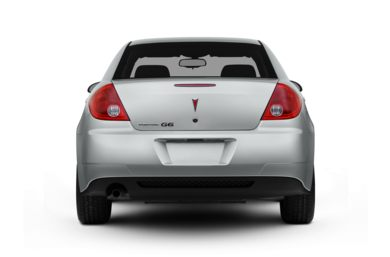Rear Profile  2010 Pontiac G6