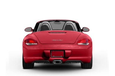 Rear Profile  2010 Porsche Boxster