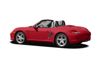 Surround 3/4 Rear - Drivers Side  2010 Porsche Boxster