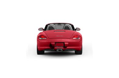 Surround Rear Profile 2010 Porsche Boxster