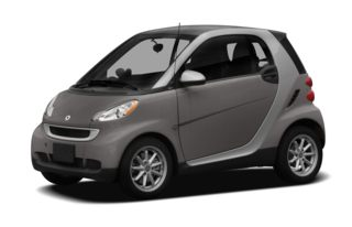 3/4 Front Glamour 2010 smart fortwo