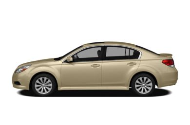 90 Degree Profile 2010 Subaru Legacy