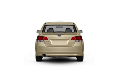 Surround Rear Profile 2010 Subaru Legacy