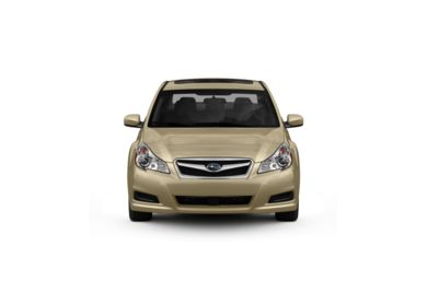 Surround Front Profile  2010 Subaru Legacy