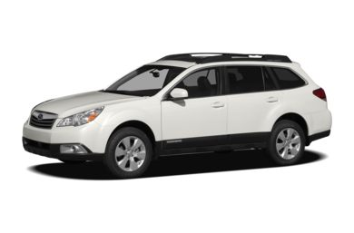 3/4 Front Glamour 2010 Subaru Outback