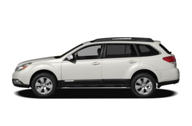 90 Degree Profile 2010 Subaru Outback