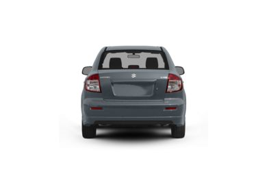 Surround Rear Profile 2010 Suzuki SX4