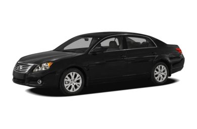 3/4 Front Glamour 2010 Toyota Avalon