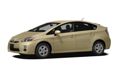 3/4 Front Glamour 2010 Toyota Prius