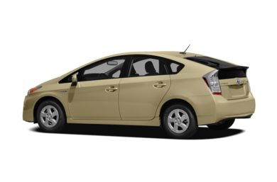 Surround 3/4 Rear - Drivers Side  2010 Toyota Prius